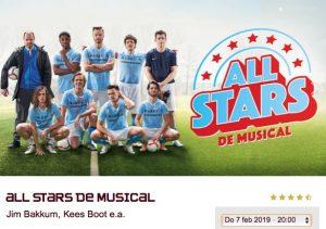 All Stars de Musical @ Theater aan de Parade   's-Hertogenbosch   Noord-Brabant   Nederland